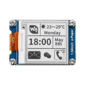 Image 2 - NEUE 1,54 Zoll E tinte Display Bildschirm e Papier Modul Unterstützung Teil Aktualisieren Für Arduino Für Raspberry Pi