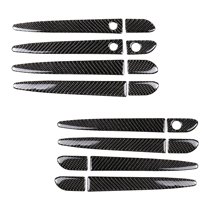For Mazda Cx 5 Cx 5 2017 2018 8pcs/Set Carbon Fiber Car Exterior Door Pull Handle Cover Sticker Trim