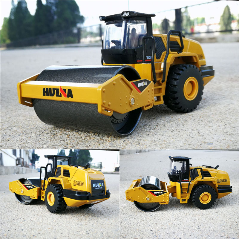 Huina 1:50 Scale Alloy Loader Engineering Vehicle Car Model Diecast Truck Toys For Children Gift Collection Hot Wheelings