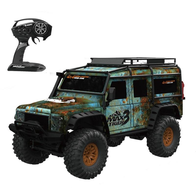 Brinquedos ZP1001 HB 1/10 2.4G 4WD 15 kmh Alta Velocidade RC Carro de Controle Proporcional Veículo Retro w/LED caçoa o Carro de RTR luz Cinza & Green