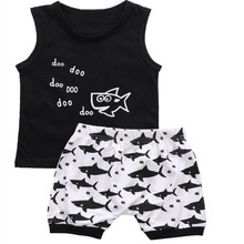 kids boy clothes set boys clothing  thanksgiving outfits 2019 boutique kid cotton fashion sleeveless cartoon christmas недорого