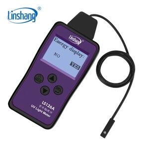 Image 5 - Linshang LS126A misuratore di luce UV irradiazione ultravioletta per UVA LED sorgente luminosa della macchina polimerizzante sensore sonda ultra piccola da 7mm