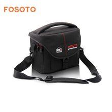 Fosoto DSLR Камера сумка чехол цифровая видео-фото фотографии плечо нейлон мешки для Dslr sony Canon Nikon D700 D300 D200