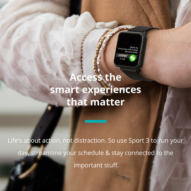 COLMI Smart watch Men IP68 waterproof Activity Fitness tracker Heart rate monitor Sport women smart band PK CF58 V11