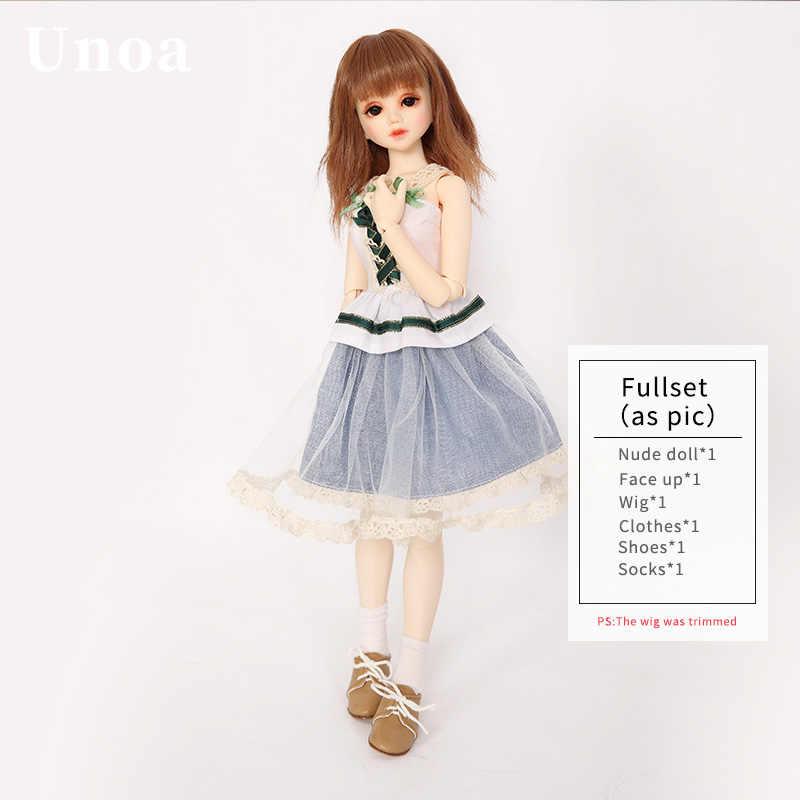 Unoa Lusis BJD куклы 1/4 модель тела для маленьких девочек и мальчиков куклы глаза luts dollmore игрушки магазин смолы аниме аксессуары luodoll