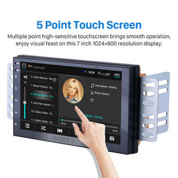 "Harfey 2Din Android 8.1 7\"" Universal Car Radio Multimedia Player for NISSAN TOYOTA KIA VW Hyundai Suzuki Honda Wifi Head Unit"
