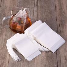 Чайные пакетики пустые ароматизированные чайные пакетики со струной Heal Seal фильтровальная бумага для травяной листовой чай Bolsas de te