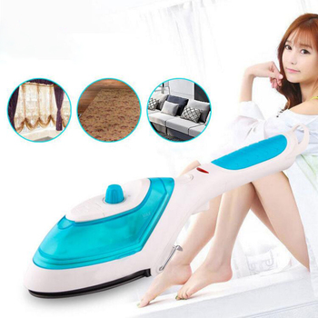 Eu Plug Portable Handheld Garment Steamer For Home Travelling Electric Clothes Steam Brush Cleaning Steam Iron 220V Teflon Pla