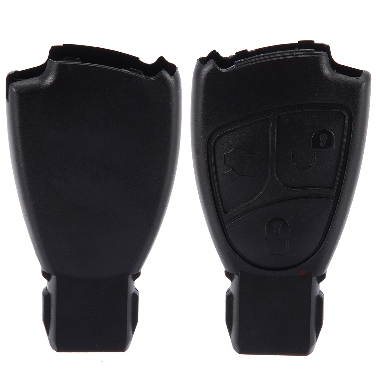 New 3 Button Remote Key Fob Cover Case For Mercedes Benz C ...