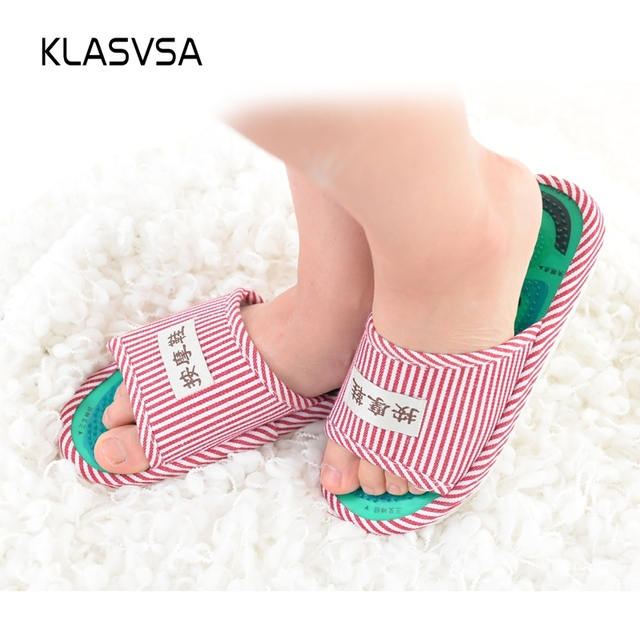 KLASVSA Reflexology Foot Massager Acupressure Slipper ...
