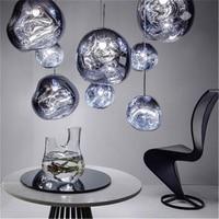 Modern Tom DIXON Lava LED Pendant Lamps Glass LOFT Hanglamp Pendant Lights Lighting Art Bedroom Bar Living Room Kitchen Fixtures