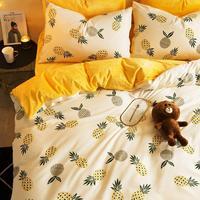 King Size Colcha Casal Cover Fundas Nordicas Individual Juego Lencoes Cotton Bed Ropa Roupa De Cama Sheet And Quilt Bedding Set
