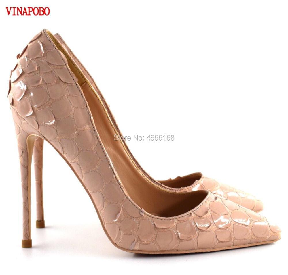 cbccec11 Serpiente Boda Calidad Sexy Vinapobo Tacones Zapatos Heel Alta Tacón ...