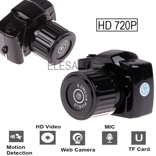 720P 2017 Digital HD CMOS 2.0 Camera Video Audio Mini Camera Small Camcorde DV DVR Recorder Web Cam