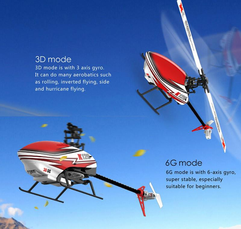 XK K120 Shuttle 6CH Brushless 3D 6G System RC Helicopter RTF/BNF Remove Control Toys RC Plane Children Birthday Gift for Kids