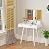 Panana Fashion Dressers Dressing Bedroom Vanity Makeup Mirror Table Furniture with Stool