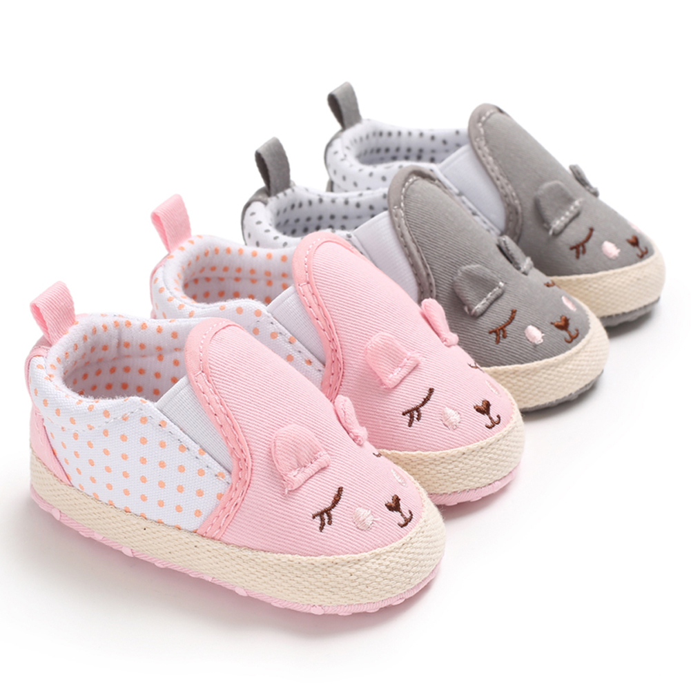 Pudcoco New Brand Newborn Baby Boy Girls Shoes Baby Infants Prewalker Casual Shoes 0-18M