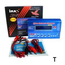 Высокое качество Imax B6 зарядное устройство 80 Вт Lipro баланс зарядное устройство NiMh Li-Ion Ni-Cd цифровой RC 12 В 6A адаптер питания EU/US зарядное устройство