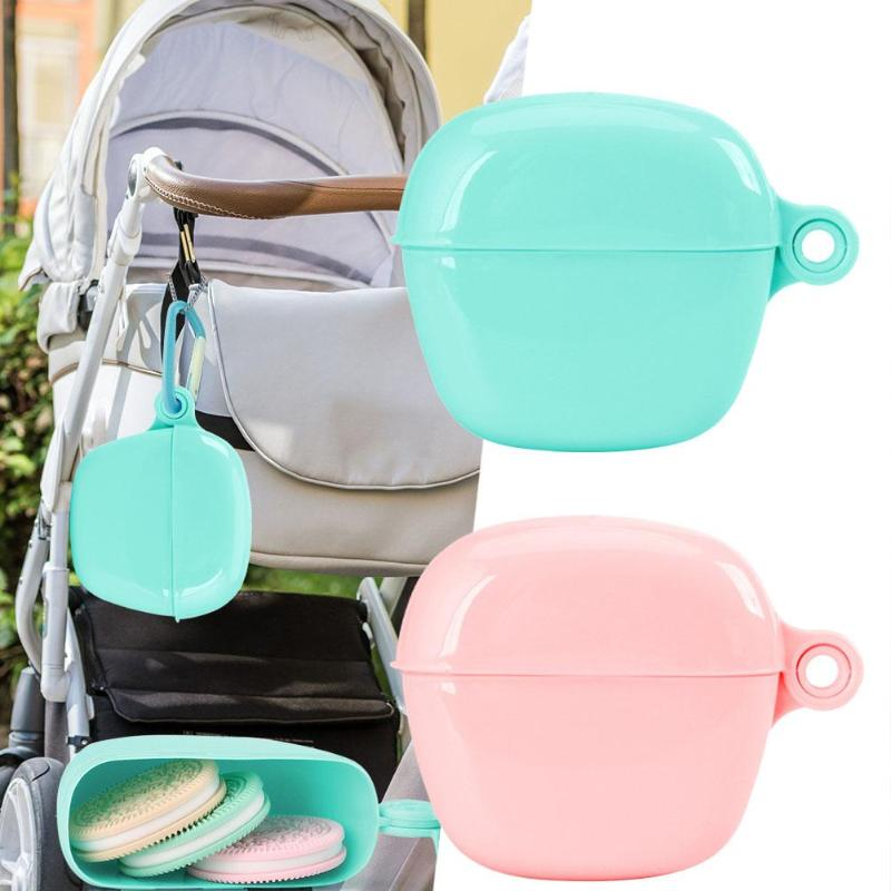 Large Capacity Portable Pacifier Box Baby Soother Nipple Storage Dust Proof Teether Case For Baby