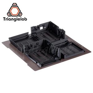 Image 5 - Trianglelab 241x252 Двусторонняя текстурированная пей Рессорная сталь лист с порошковым покрытием пей сборки пластины для Prusa i3 MK2.5S mk3 MK3S