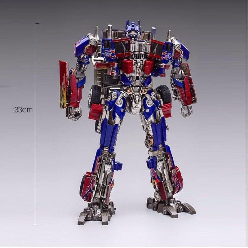 Livraison gratuite Weijiang film Studio série SS05 OP Commander surdimensionné Transformation métal alliage pièces Action Figure Robot jouet