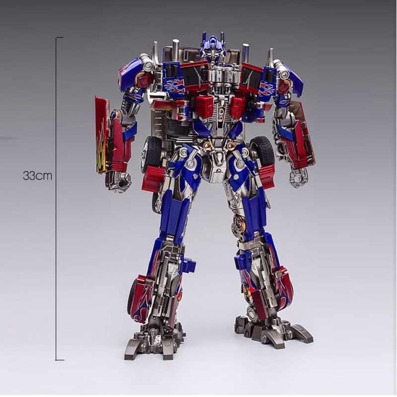 Weijiang زعيم التحول عمل الفيلم أرقام SS05 OP قائد كبير الحجم KO المعادن قطع سبيكة ABS تشوه سيارة لعبة روبوت