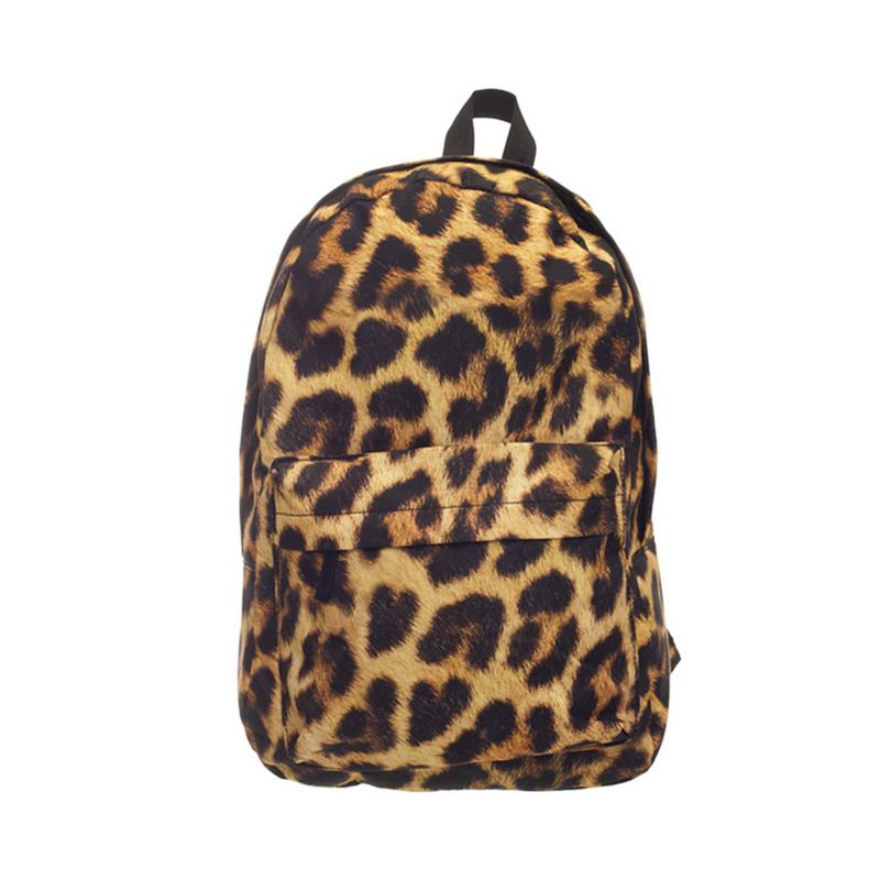 New Fashion Leopard Backpack School Bag For Teenager Rucksack Fully Printed Travel Bag Students Leopardo Backpack Mochila