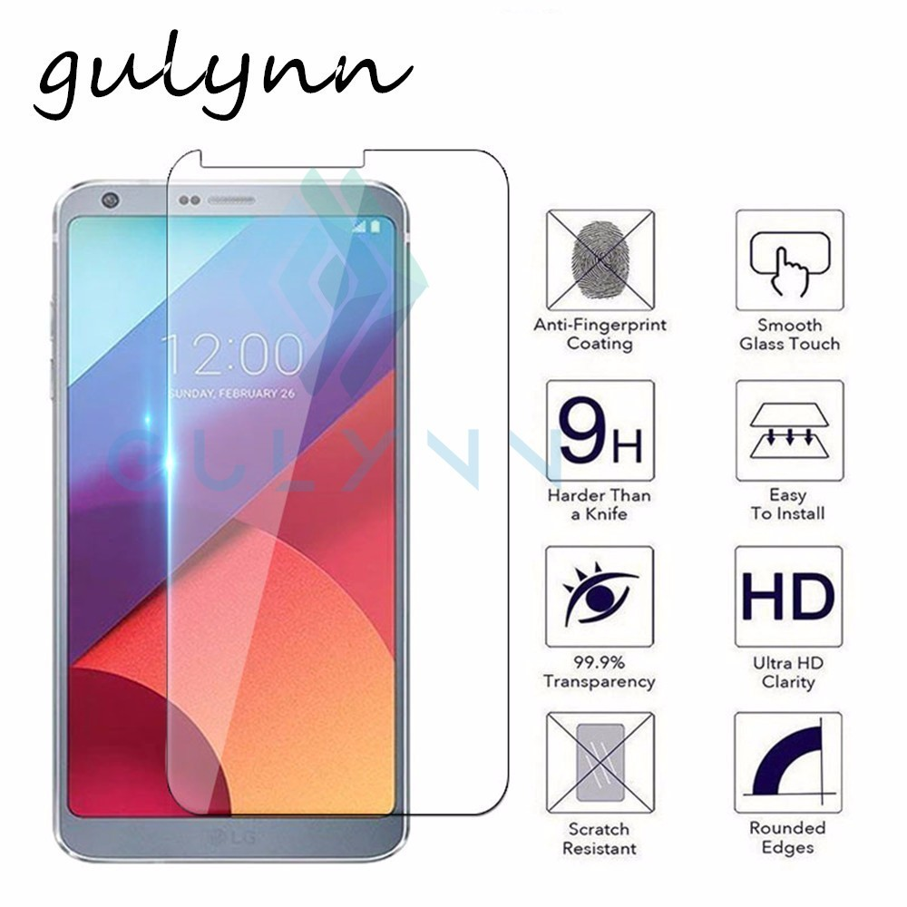 New 9H Tempered Glass For LG G4 G6 K10 2017 2018 G7 V10 Q Stylus Q7 K11 K11 Plus Screen Protector Film Cover Glass HD image
