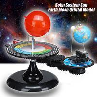 Solar System Globe Earth Sun Moon Orbital Planetarium Model Educational for Children Toy Astronomy Science Kit Teaching Tool