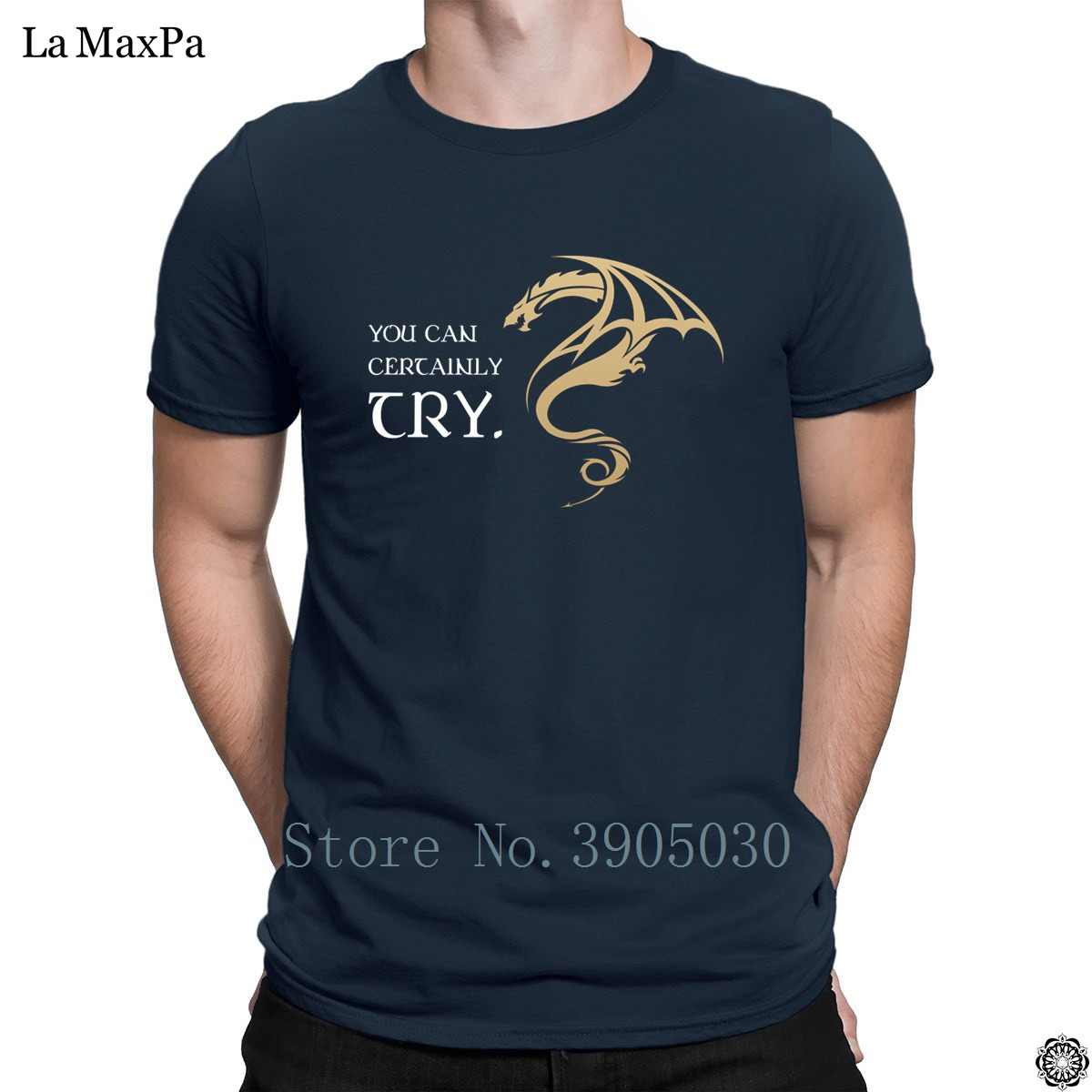 4978f4a7 Homme Short-Sleeve Men's T-Shirt You Can Certainly Try Dungeon Master Dragon  Dnd