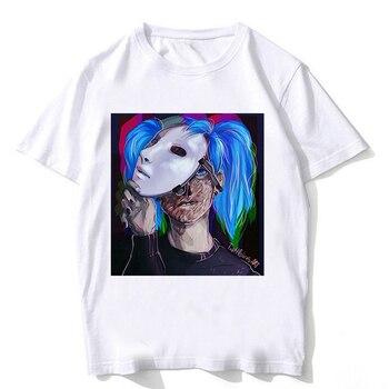 53a1a8329f29c Sally cara T camisa Streetwear hombre Harajuku moda Sally cara divertido  para hombres ropa de las mujeres Tee camiseta Camisetas hombre