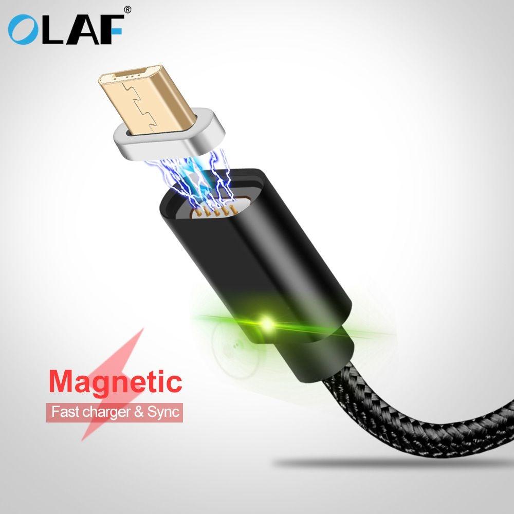 Handys & Telekommunikation Obligatorisch Olaf Magnetische Micro Usb Kabel Für Samsung S7 Ladegerät Magnet Daten Lade Lade Microusb-kabel Für Android Handy Kabel üBerlegene Leistung
