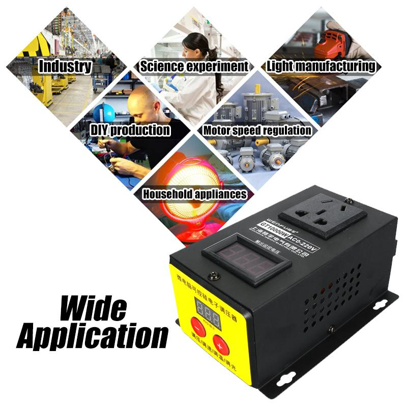 tensao eletronico display led temperatura velocidade ajustar 04
