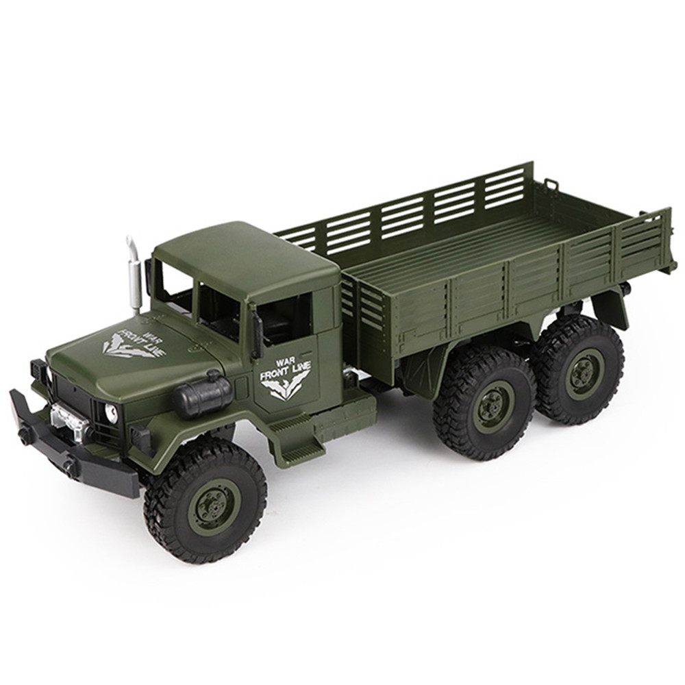 JJRC Q63 RC автомобили игрушка 1/16 2,4 г 6WD пульт дистанционного управления игрушки внедорожный военный грузовик гусеничный RC автомобиль Дети Рожд...