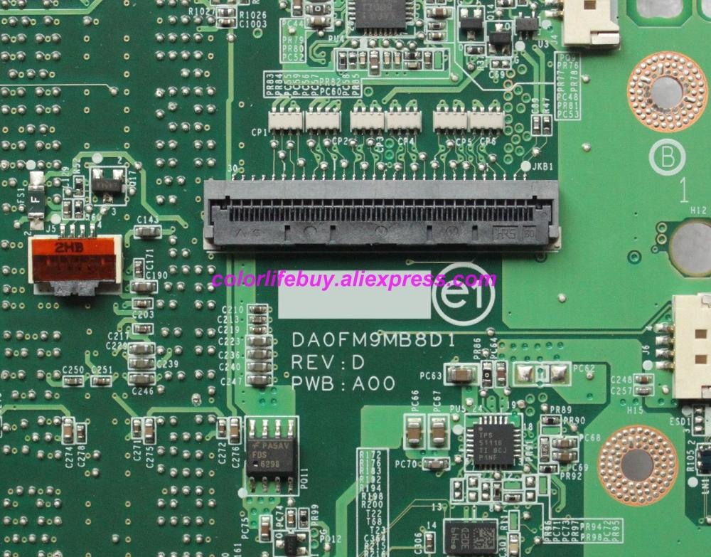 Image 4 - Genuine CN 0CGY2Y 0CGY2Y CGY2Y DA0FM9MB8D1 HD5470 512MB HM55 Laptop Motherboard Mainboard for Dell Studio 1558 S1558 Notebook PC-in Laptop Motherboard from Computer & Office