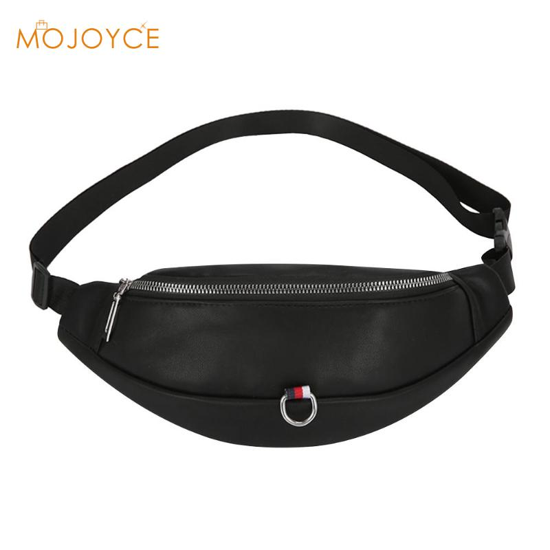 Women PU Leather Waist Bags Casual Pouch Belt Fanny Money Chest Handbags For Girls Purse Paquete De La Cintura Bolsa Mujer 2019