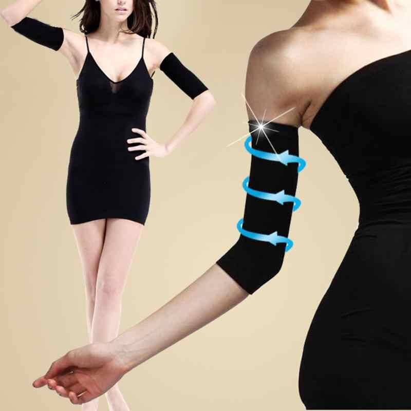 1 paar Dünne Unterarme Hände Arme Shaper Fett Verbrennen Gürtel Compression Frauen Kalorie Weg Brennen Fett Cellulite Buster Brenner