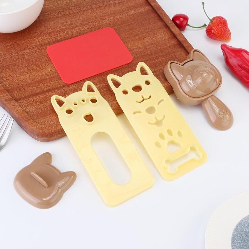 5 шт./компл. милый мультфильм суши нори форма для риса Декор резак форма для приготовления бенто сэндвич DIY инструмент кухонные принадлежности-5