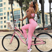 New Yoga Set Gym Clothes For Women Hot Fitness Running Suit Leggings Sportswear Femlae