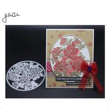 Flower Background SCRAPBOOK Metal Cutting Dies For Scrapbooking Stencils DIY Album Cards Decoration Embossing Folder Die Cuts