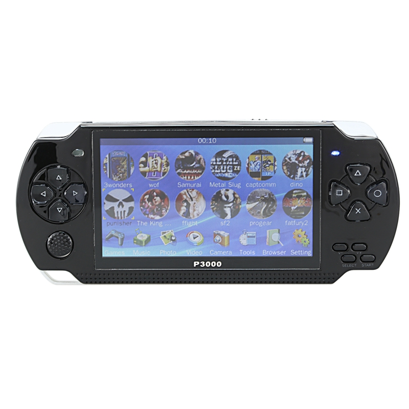 4.3inch Handheld Game Console 8Gb Portable Video Game Built-In 10000 Free Classic Games Support Mp3/4 US Plug