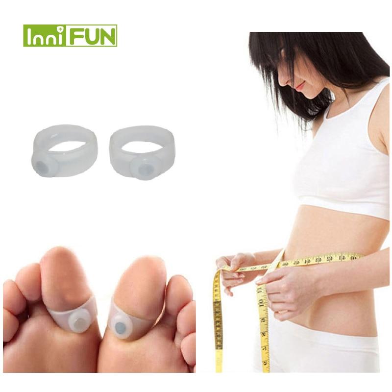 1Pair = 2Pcs Fogyás Mágneses szilikon lábápolás Diétás - Egészségügyi ellátás