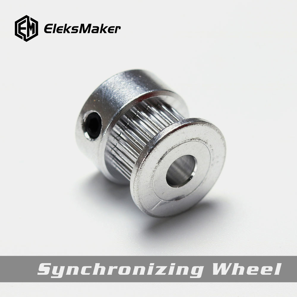 EleksMaker 2GT-16/5mm Aluminum Alloy Synchronous Wheel Timing Pulley With 16 Teeth For Laser Engraver And 3D Printer