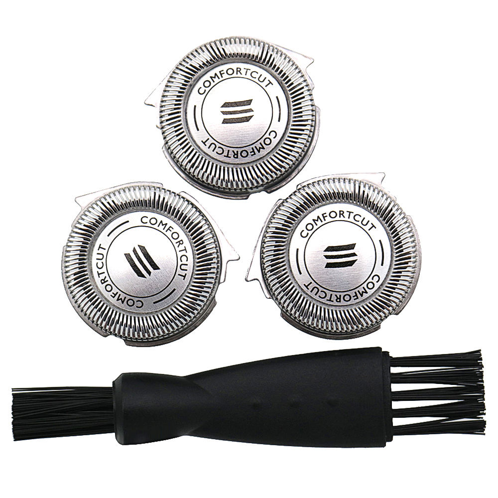 3pcs Replacement Shaver Head For Philips RQ32 RQ310 RQ320 RQ330 RQ350 RQ360 RQ370 RQ11 RQ1150 RQ1160 RQ1180