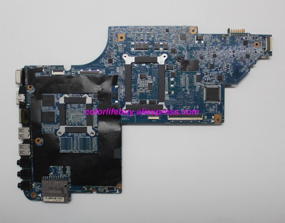 Image 2 - Натуральная 665345 001 аккумулятор большой емкости HM65 HD6490/1G DUO U2 материнская плата для ноутбука hp DV6 DV6 6000 серии DV6 6C00 ноутбук ПК-in Материнская плата для ноутбука from Компьютер и офис