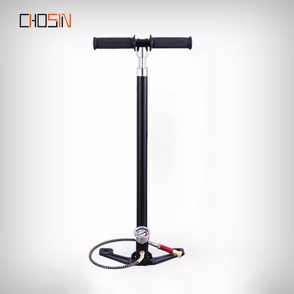 Pcp Pump 4 Four Stages Stage High Pressure Hand Pump Operated Air Pump 30mpa 4500psi Hpa Tank Hunting Car Bike Air Recharge
