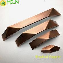 1.25 2.5 5 Cabinet Handle Door Knobs Dresser Drawer Pulls Handles Chrome Matt Silver Brushed Copper Bronze Black 32 64 128mm цена