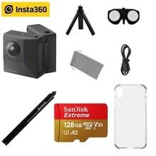 Insta360 EVO 5,7 K 180 3D VR/panorámica Insta 360 cámara para Android y iPhone XS/Xs Max/XR/X/8/8/7/7 plus/6s/6s plus