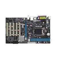 H61 DVR PC Computer Motherboard LGA 1155 5 PCI Slot Monitor ATX COM DDR3 Dual Channel Mainboard