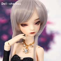 送料無料ベラ BJD 人形 1/4 スリムファッションモデル高品質のおもちゃ最高の誕生日プレゼント送料目 DC 人形シャトー